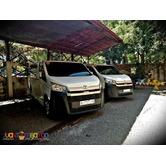 Van For Rent Van For Hire Toyota Hiace Deluxe
