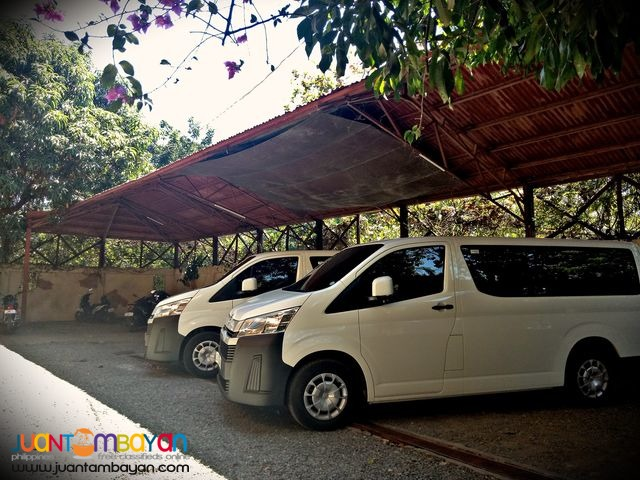 Van For Rent Van For Hire Toyota Hiace Deluxe