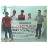 Safety Officer Training Bosh Training Pampanga Dole Accredited