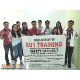 Dole So1 Training Safety Officer 1 Training Dole Accredited Pam