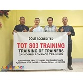 Dole Accredited Tot Training for Safety Officer 3 Quezon City