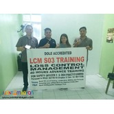 So3 Training Safety Officer 3 Lcm Training Dole Accredited Pam