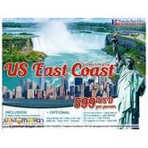 6D5N East Coast Tour Package