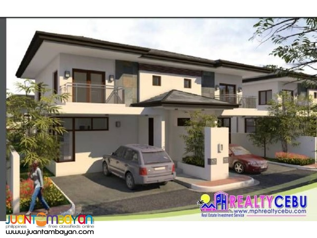 4BR INNER CRESCENT END UNIT TH - PRISTINA NORTH TALAMBAN CEBU