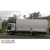 6 wheeler forward wing van for rent 10tonner
