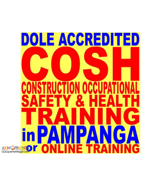 Online Cosh Training Pampanga Dole Accredited So2 Safety Officer 2