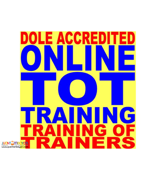 Online Tot Training of Trainer Saturday Sunday Dole Tot Online So3
