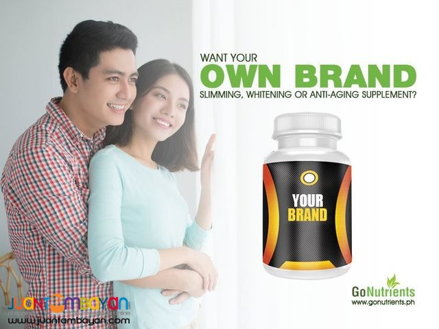 Own brand of supplement