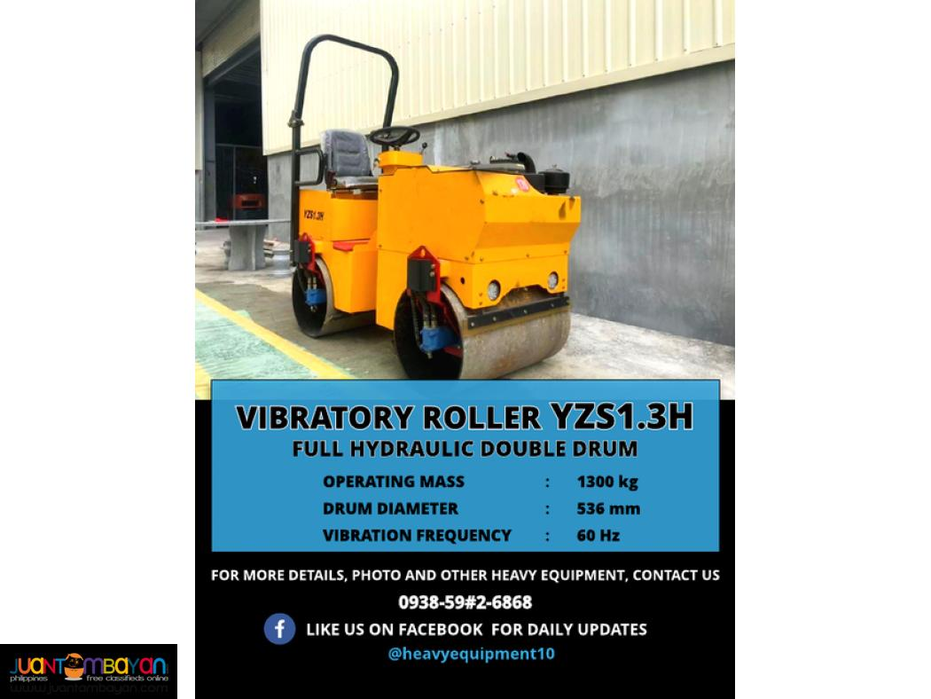 BRAND NEW VIBRO ROLLER (SINGLE AND DOUBLE DRUM)