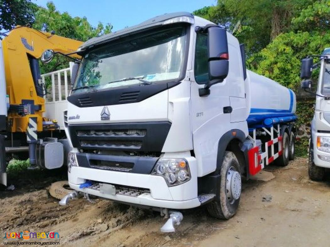 HOWO A7 10-WHEELER WATER TRUCK 20KL CAPACITY