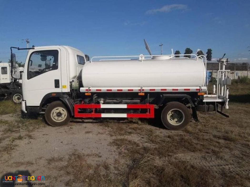 hOMAN H3 6-WHEELER WATER TRUCK 4000L CAPACITY