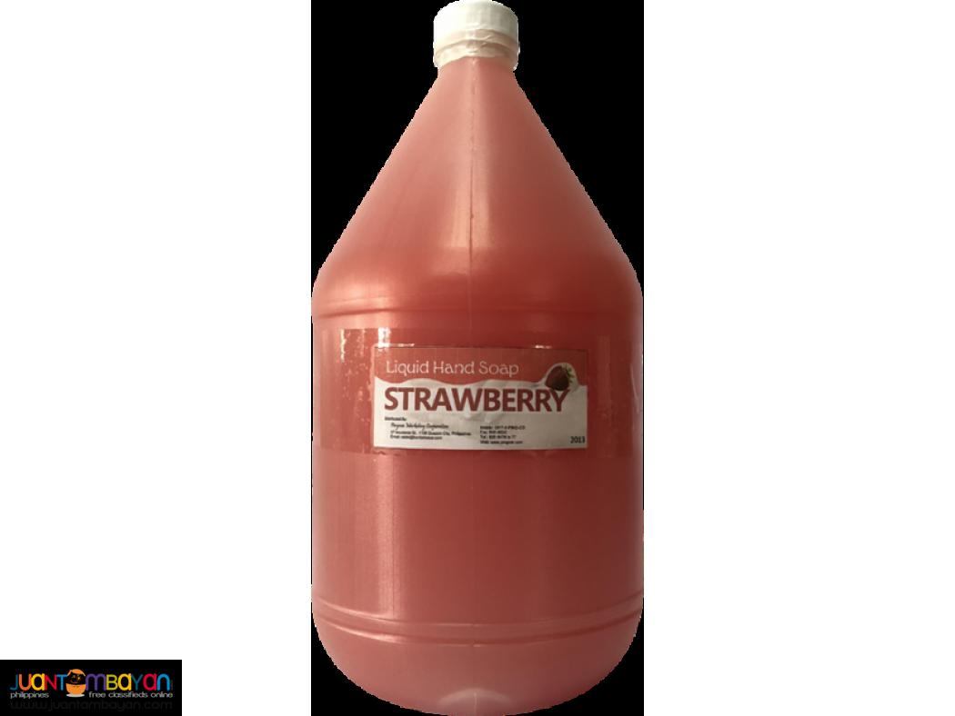 Liquid Hand Soap Strawberry Scent