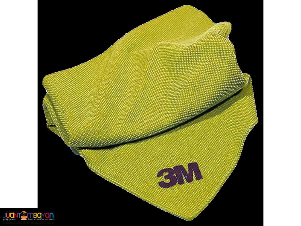 3M Microfiber Wipes Yellow 10 count