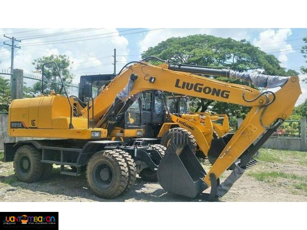 Brandnew Liugong W915E Wheel Backhoe . 6m³