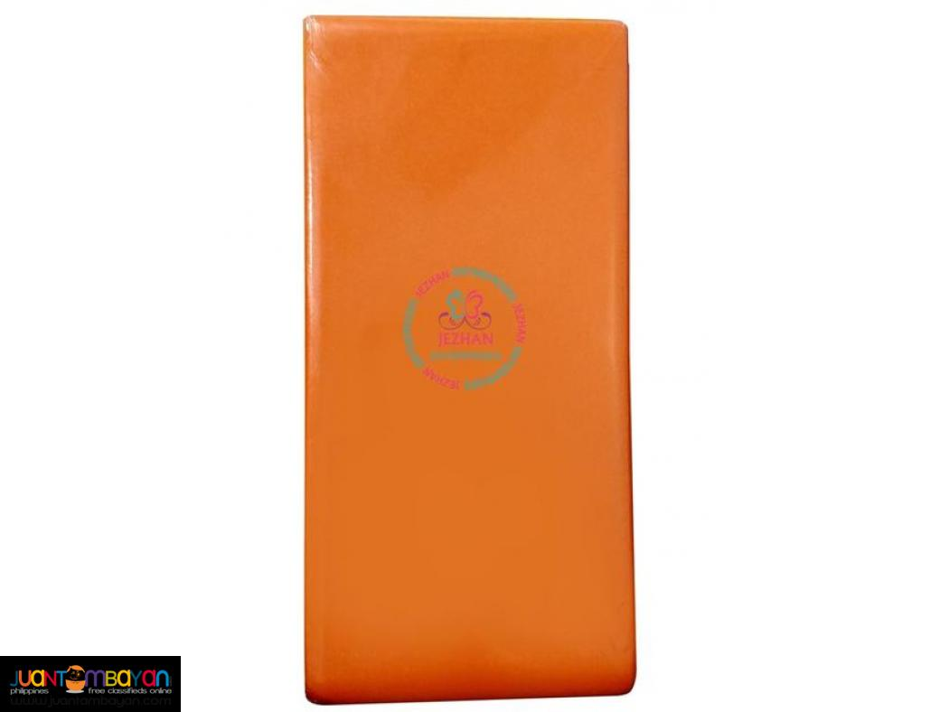 Padded Aluminum Foam Splint Orange Flat Fold
