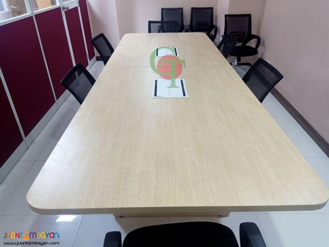 Conference Table with wire Box