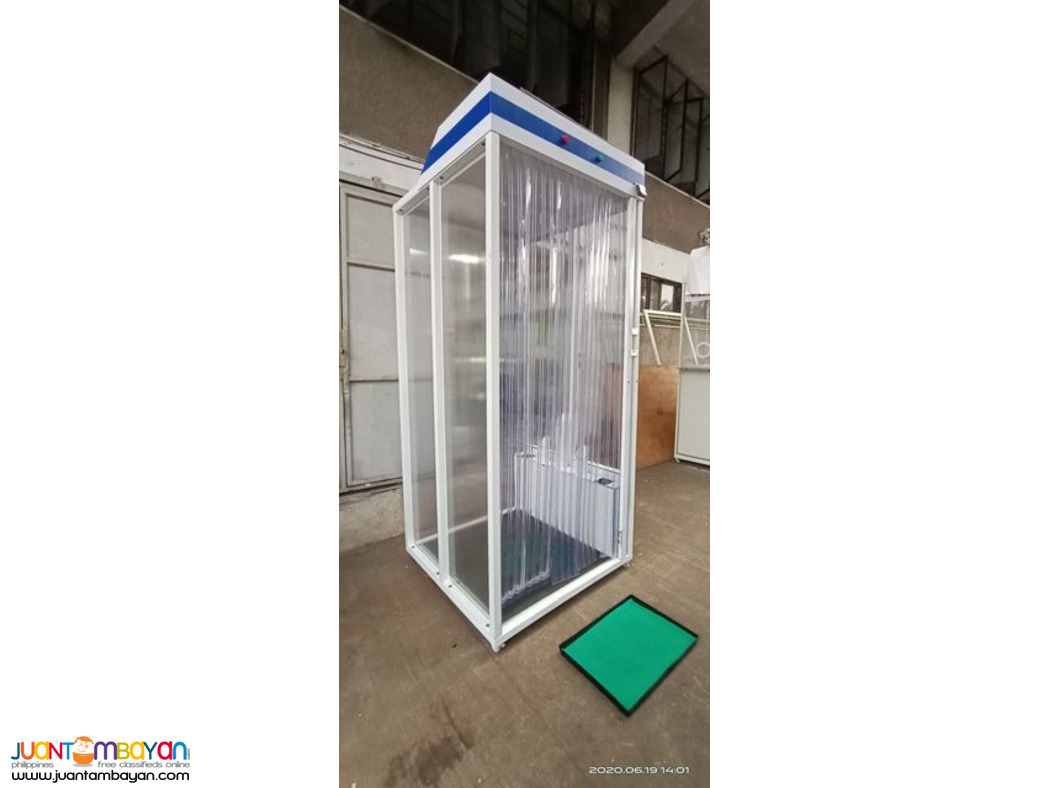 Disinfection Chamber V2.1 (Fogging-Full Body Disinfection)