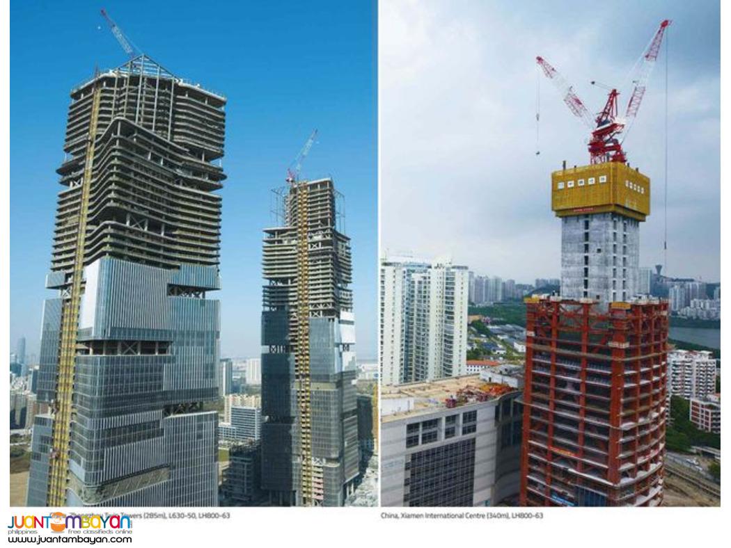 luffing Tower Crane (ZOOMLION)