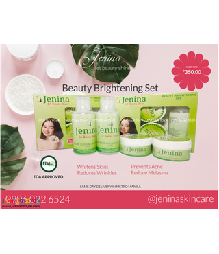 Jenina Acne Skincare (Brightening Set)