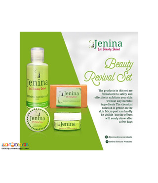 Jenina Whitening Beauty Revival Set