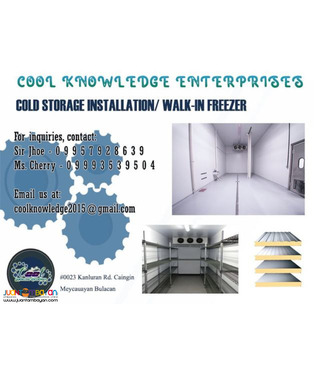 Cold Storage Walk In Chiller walk in freezer
