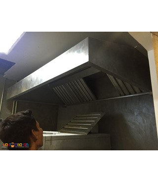 Kitchen Hood Exhaust Blowers Ducting