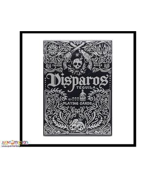 Disparos (Tequila Black) Playing Cards