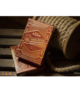 Monarchs Red Edition Playing Cards