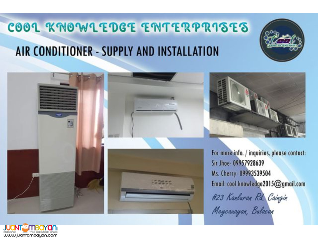 Air conditioner-Supply and Installation