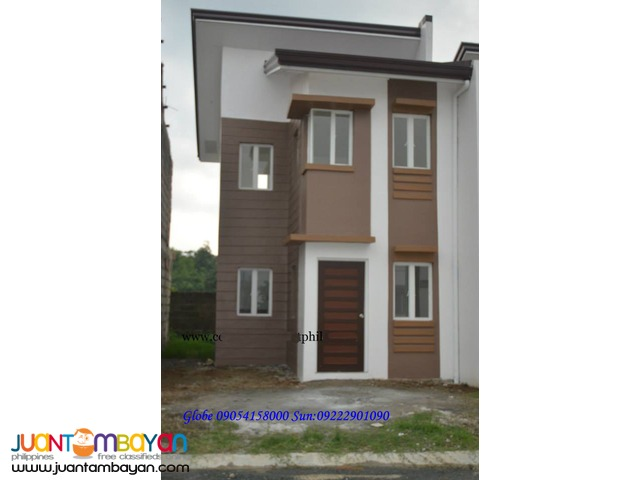 Metro Royale Single Attached House n Lot thru Pag Ibig or Bank