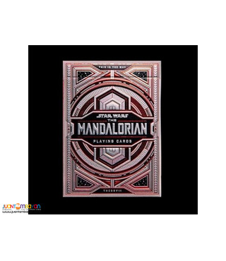 Star Wars: The Mandalorian Playing Cards by Theory 11