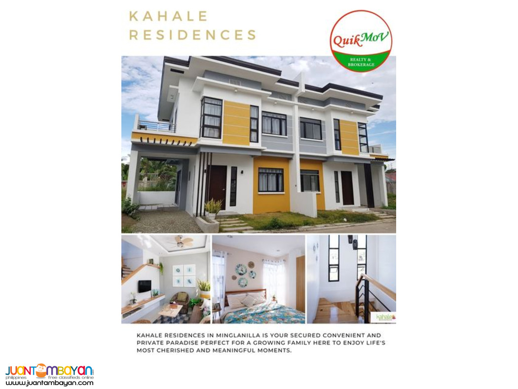 House and Lot for Sale Kahale Residences Minglanilla Cebu