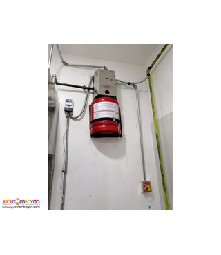 Fire Suppression System for Kitchen Supply Install Bulacan