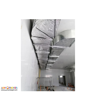 Exhaust Ducting Blower Kitchen Hood Supply Install