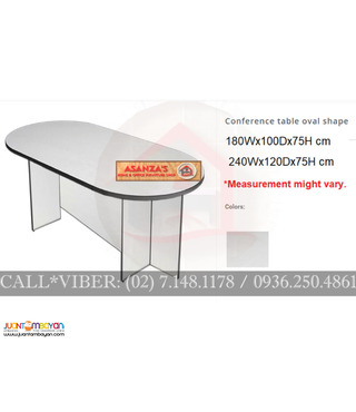 conference table - oval shape *( factory Price )