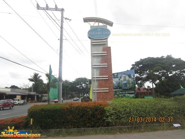 Sugar land Estates Trece Martires City