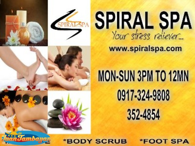 Home Service Massage P250 / hour