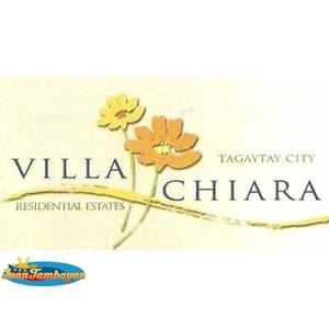 VILLA CHIARA RESIDENTIAL STATE  TAGAYTAY CITY