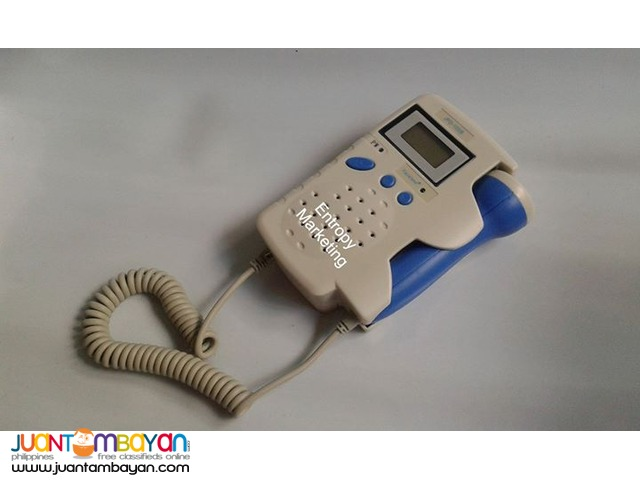 Fetal Doppler with rechargeable battery pack