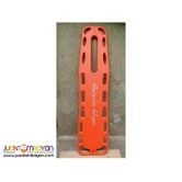 SPINE BOARD STRETCHER WITH SAFETY BELTS