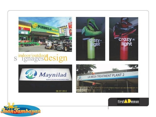 Signage - Printing, Digital, Pylon, Stainless ,Booth, Module, Float