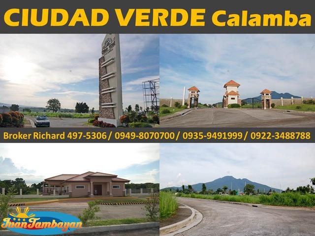 CIUDAD VERDE Calamba Laguna Subdivision Lots - 6,000/sqm  - ₱720,000.00
