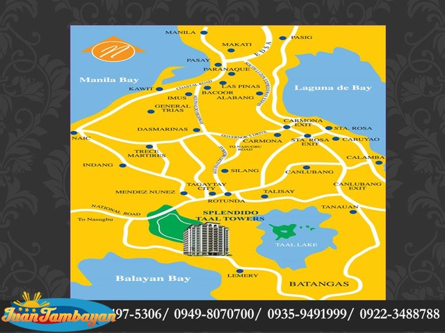 SPLENDIDO TAGAYTAY Residential Subdivision LOTS = 11,500/sqm