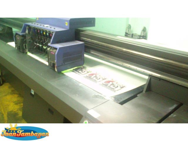 Large Format Computer Digital Tarp Sticker Sintra Acrylic Printing