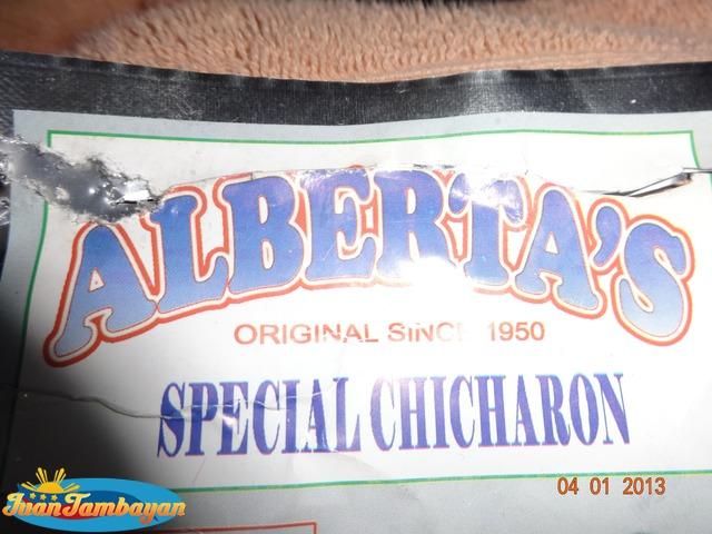 Berta's Chicharon Bituka