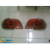 2002 honda civic tail light set