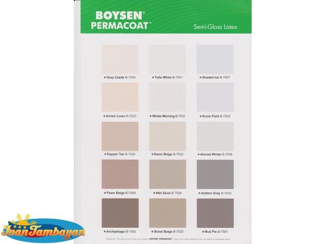 Boysen Color Paints Choose Colors1 Kee Soon