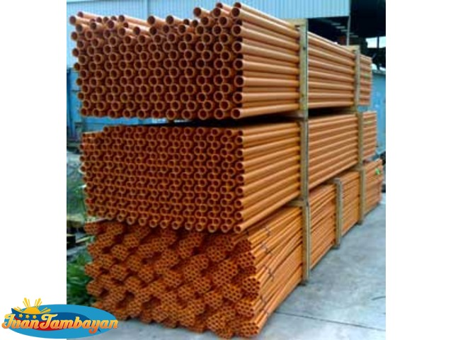 Pvc Pipes Orange 2