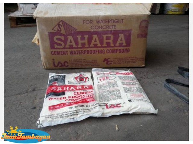 Sahara cement waterproofing compound