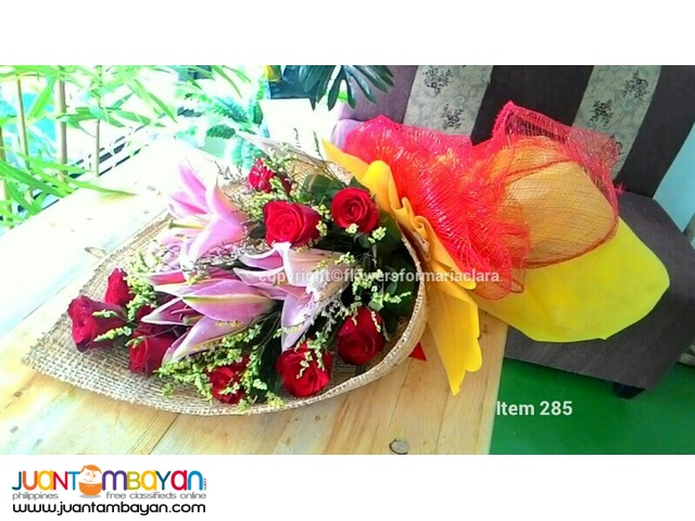affordable fresh roses ferrero bouquet flowers delivery | Manila ...